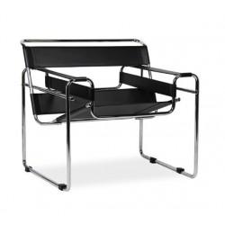 Fotel designerski bauhaus Wassily