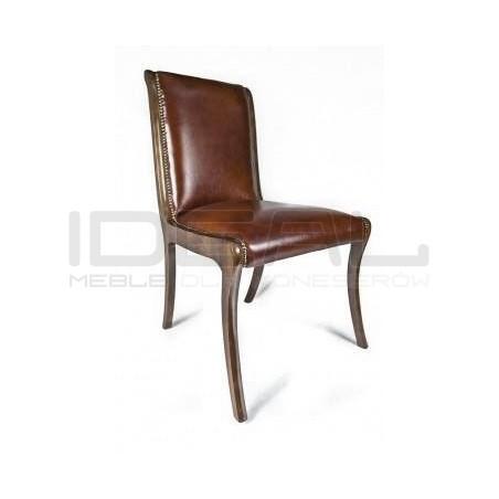 Krzesło Henry w skórze