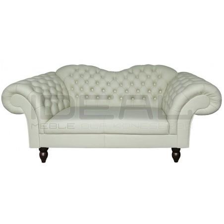 Sofa Chesterfield Victoria skóra 2,5 os