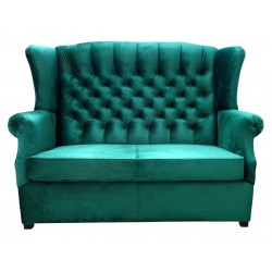 Sofa Chesterfield Uszak Old Plus z f. spania 2 os.