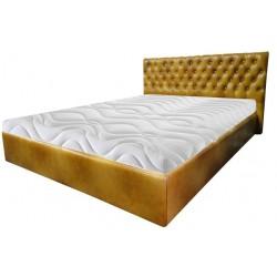 Łóżko Chesterfield Classic Skóra 180x200 cm