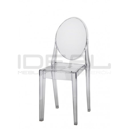Krzesło przezroczyste Viki
