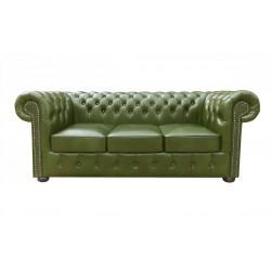 Sofa Chesterfield Classic XL Skóra 3,5 os.