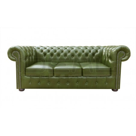 Sofa Chesterfield Classic XL Skóra 3,5 os.