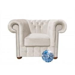 Fotel Chesterfield Classic XL z kryształkami