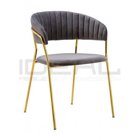 Krzesło Glamour Kubełkowe Margo