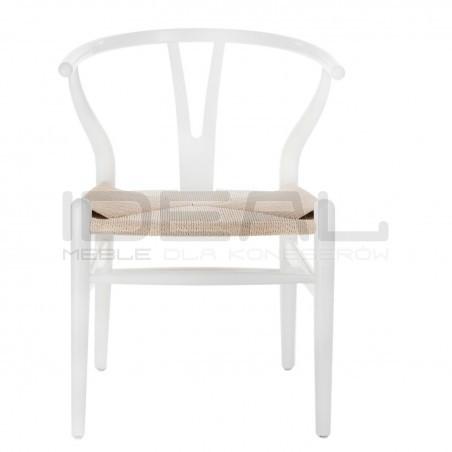 Krzesło inspirowane projektem Wishbone - Boho Wicker