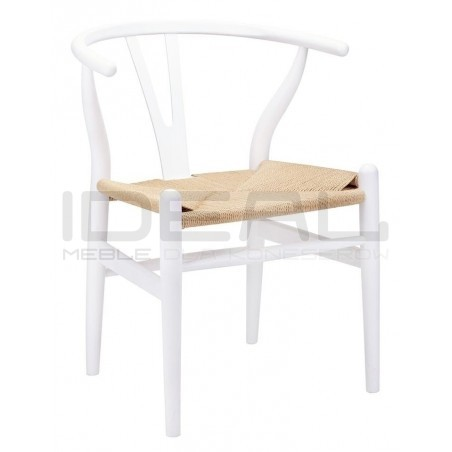 Krzesło Bonbon inspirowane projektem Wishbone