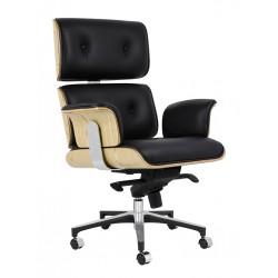 Fotel biurowy Bauhaus Lounge Business - sklejka jesion