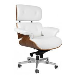 Fotel biurowy Bauhaus Lounge Gubernator - sklejka orzech