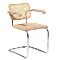 Krzesło Cesca z podłokietnikami