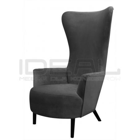 Fotel Back inspirowanay projektem Wingback Chair