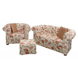 Sofa Chesterfield March decoration