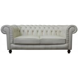 Sofa Chesterfield Lady Rem Skóra 3 os.