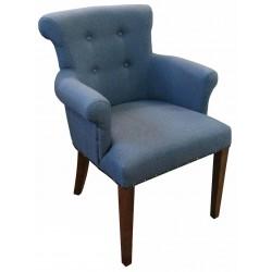 Krzesło Chesterfield Romeusz z podłokietnikami