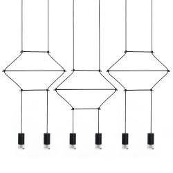 Lampa wisząca FLUSSO LINE 6