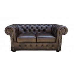 Sofa Chesterfield Classic skóra 2 os.