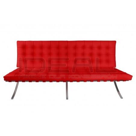 Sofa BA Inspirowana Projektem Barcelona  2 os.