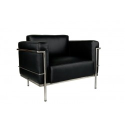 Fotel Kubik Inspirowany Projektem Lc3
