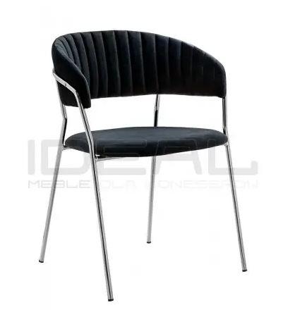 Krzesła glamour margo chrom