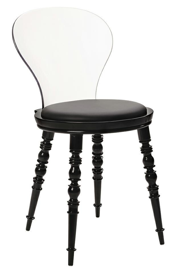Krzesło przezroczyste Slip