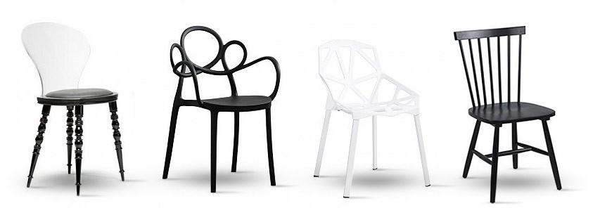 Czarne krzesła mają znaczenie